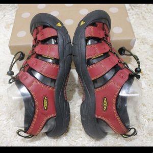 Keen Newport Red Sport Boys Waterproof Sandals